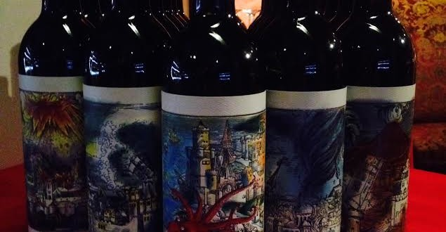 Force Of Nature Wine by Rob Murray