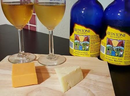 Redstone Meadery and Cheese Pairing