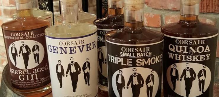 Corsair Artisan Distillery Spirits