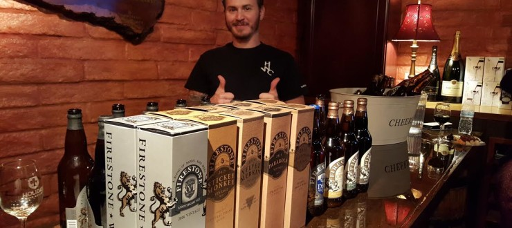 Firestone Walker Beer Tasting
