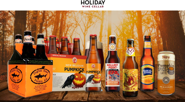 Seasonal Pumpkin Spice Beers