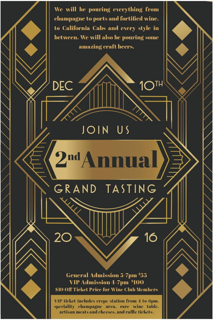 HWC's 2nd Annual Grand Tasting | Toast to the Season